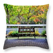 The Resting Spot Throw Pillow