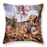 The Resurrection Of Christ, Florentine School, 1560 Throw Pillow