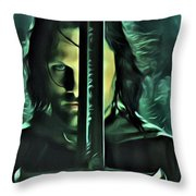 The Return Of The King Throw Pillow