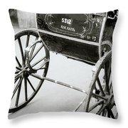 The Rickshaw Throw Pillow