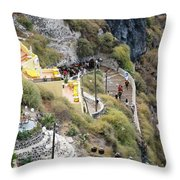The Ride Up Throw Pillow