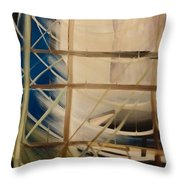 The Rigging Throw Pillow