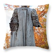 The Right Reverend William Pinkney Throw Pillow