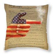 The Right To Bear Arms-4 Throw Pillow