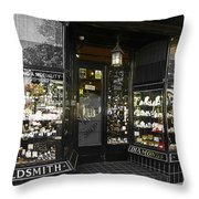 The Ring Shop In Margate England  Throw Pillow