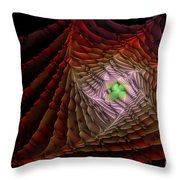 The Rippled Effect Throw Pillow