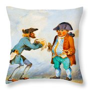 The Rise Of The Stock Throw Pillow