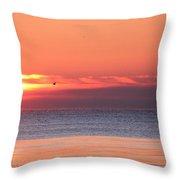 The Rising Sun Throw Pillow