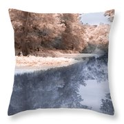 The River - Near Infrared Throw Pillow