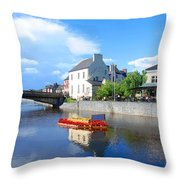 The River Nore Throw Pillow