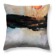 The River Tethys Part Three Of Three Throw Pillow