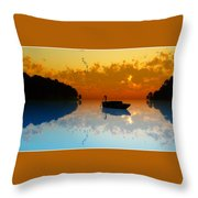 The Riverboat... Throw Pillow