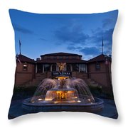 The Riviera On Geneva Lake Wi Throw Pillow