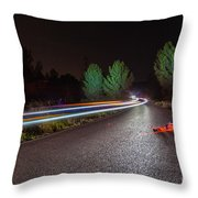 The Road 2 Throw Pillow