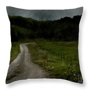 The Road Home Throw Pillow
