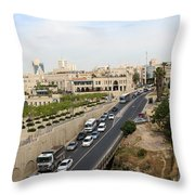 The Road To Bethlehem Throw Pillow