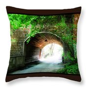 The Road To Beyond Throw Pillow