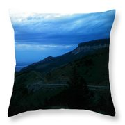 The Road To Cody Throw Pillow