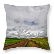 The Road To Where Throw Pillow