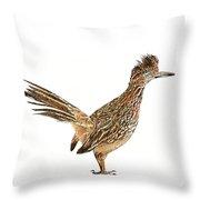 State Bird Of New Mexico Throw Pillow