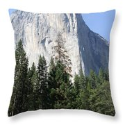 The Rock Chief Throw Pillow