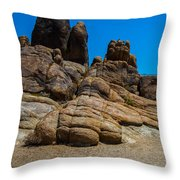 The Rock Formation Throw Pillow
