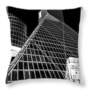 The Rock Hall Cleveland Throw Pillow