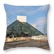 The Rock Hall Throw Pillow