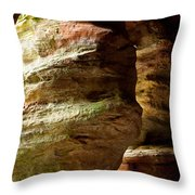 The Rock House Throw Pillow