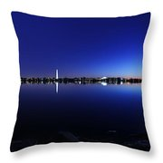 The Rocks Of The Potomac Throw Pillow