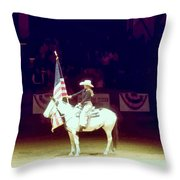 The Rodeo  Throw Pillow