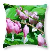 The Romance Flower Throw Pillow