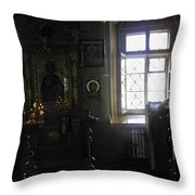 The Room - Moscow - Russia Throw Pillow