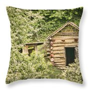 The Root Cellar Throw Pillow by Heather Applegate