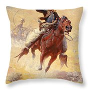 The Roping Throw Pillow