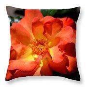 The Rose Of Joy Throw Pillow