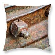 The Roundhouse Evanston Wyoming - 4 Throw Pillow