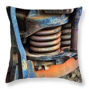 The Roundhouse Evanston Wyoming Dining Car - 2 Throw Pillow