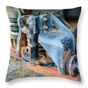 The Roundhouse Evanston Wyoming Dining Car - 4 Throw Pillow