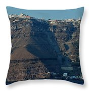 The Route Up Throw Pillow