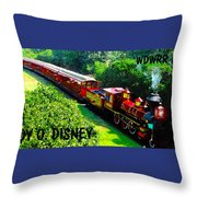 The Roy O. Disney Throw Pillow