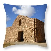 The Ruin Of Takht I Soleiman In Iran Throw Pillow
