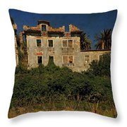 The Ruins II Throw Pillow