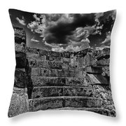 The Ruins Of Chichen Itza V2 Throw Pillow