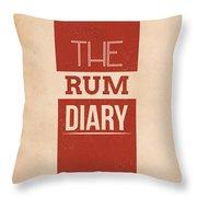 The Rum Diary Throw Pillow
