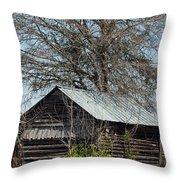 The Rural Life II Throw Pillow