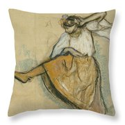 The Russian Dancer Throw Pillow