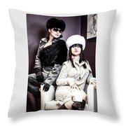 The Russian Institute Throw Pillow