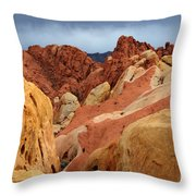 Valley Of Fire Nevada 1 Throw Pillow