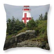 The Sailor's Signpost Throw Pillow